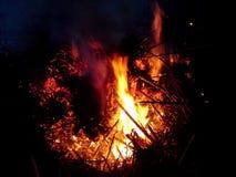 Núcleo da fogueira Imagem de Stock
