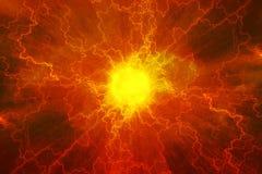Núcleo do poder da energia ilustração do vetor