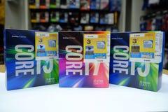 Núcleo do processador de Intel mim Gen6 Imagem de Stock Royalty Free