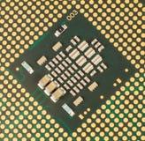 Núcleo do processador do computador imagens de stock