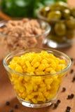 Núcleos de maíz dulce Imágenes de archivo libres de regalías