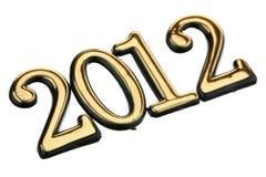 Número 2012 Fotografia de Stock Royalty Free