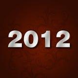 número 2012 Imagen de archivo libre de regalías