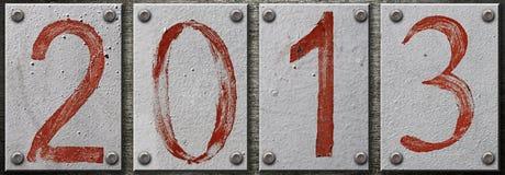 número 2013 Imagen de archivo