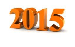 Número 2015 Fotografía de archivo