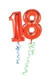 Número 18 Fotografia de Stock Royalty Free