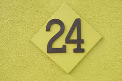 Número 24 Foto de Stock