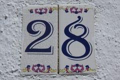 número Imagen de archivo
