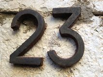número Imagenes de archivo