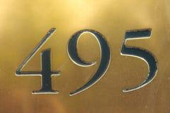 número Imagen de archivo libre de regalías