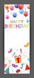 Número colorido da vela do aniversário Fotografia de Stock Royalty Free