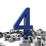 Número cuatro