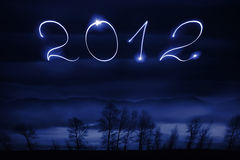Número de 2012 Imagen de archivo libre de regalías