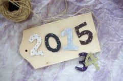 Número de Año Nuevo Fotos de archivo