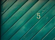 Número de casa Fotos de archivo