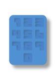 Número de estilo de la bandeja de hielo Imágenes de archivo libres de regalías