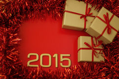 Número de los conceptos del año 2015 Imagenes de archivo