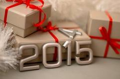 Número de los conceptos del año 2015 Imágenes de archivo libres de regalías
