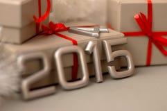 Número de los conceptos del año 2015 Foto de archivo