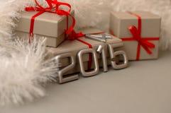 Número de los conceptos del año 2015 Fotografía de archivo libre de regalías