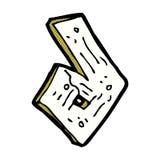 número de madera de la historieta cómica Fotos de archivo libres de regalías