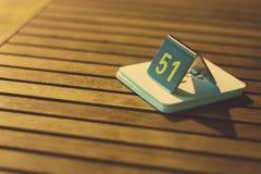 Número de matrícula Fotografía de archivo