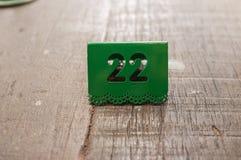 Número de matrícula Imagen de archivo libre de regalías
