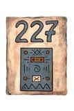 Número de placa Fotos de archivo libres de regalías