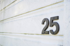 Número del número Fotografía de archivo libre de regalías
