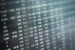 Número do mercado de valores de ação Imagem de Stock Royalty Free
