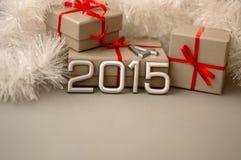 Número dos conceitos do ano 2015 Foto de Stock Royalty Free