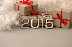Número dos conceitos do ano 2015 Imagens de Stock