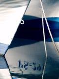 Número en el agua Foto de archivo