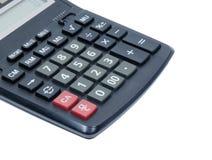 Número en la calculadora básica Fotografía de archivo