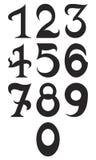 Número fundamental set2 Imágenes de archivo libres de regalías