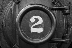 Número locomotivo 2 Imagem de Stock Royalty Free