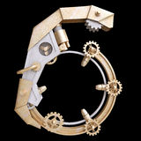 Número mecánico del hierro Foto de archivo