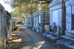 Número 1 Nova Orleães do cemitério de Lafayette Foto de Stock