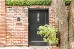 Número portal preto 60 Imagem de Stock