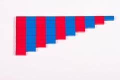 Número Ros de Montessori Fotografia de Stock