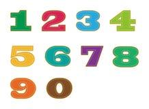 Número Imagem de Stock
