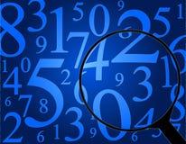 Números ilustración del vector