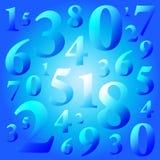 Números ilustração do vetor