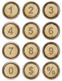 Números foto de archivo