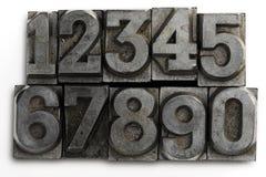 Números Imagen de archivo libre de regalías