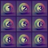 Números. Fotografia de Stock