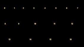 0-100 números