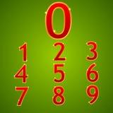 Números Foto de Stock