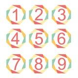 Números Imagenes de archivo