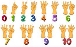 números Imagem de Stock